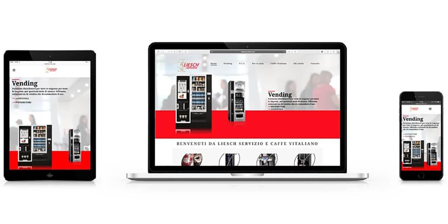 Realizzazione sito e commerce Vitaliano Coffee