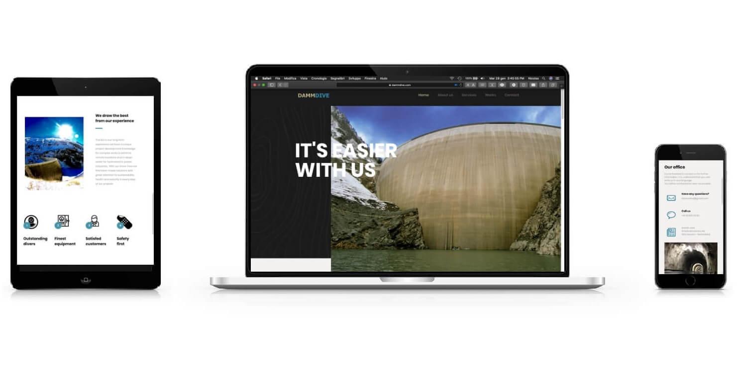 Sito web aziendale - Dammdive