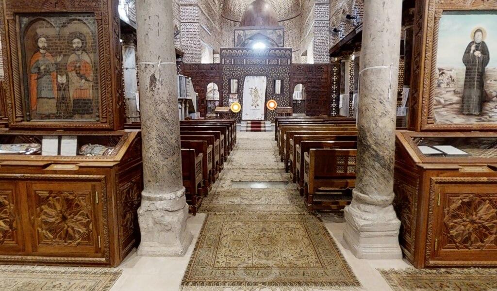 La Chiesa di Abu Sarjah