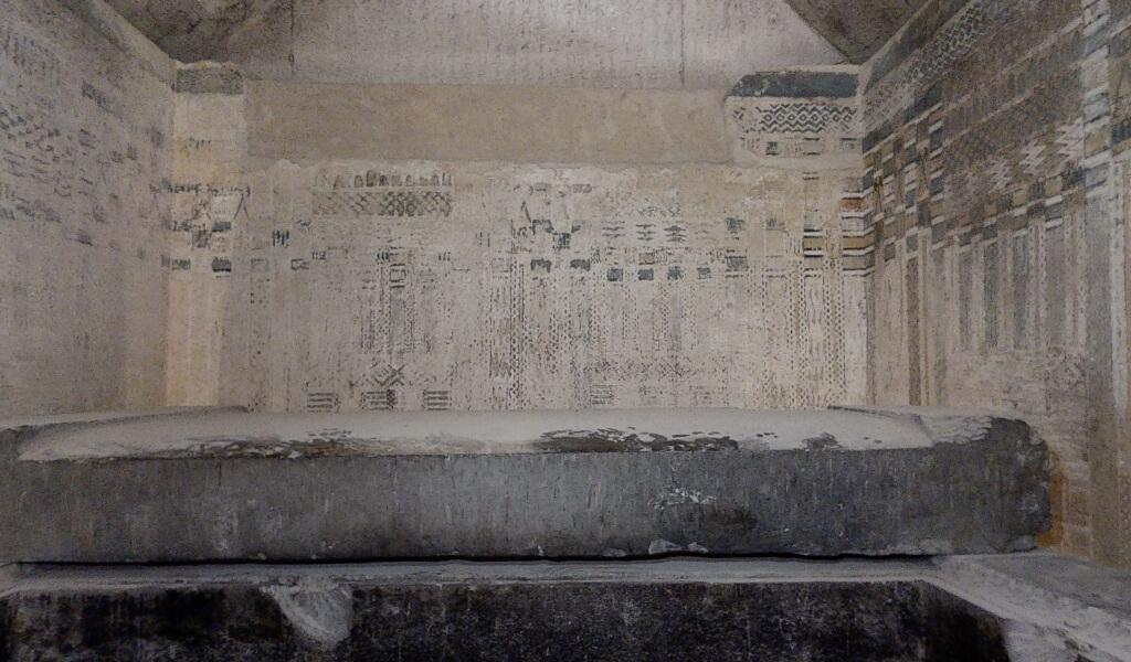 Il complesso funerario del re Unas