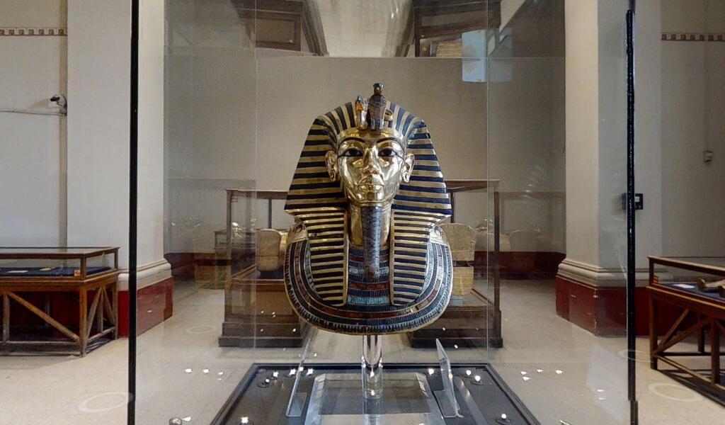 La sala di Tutankhamon